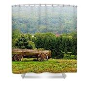Baraboo Hillside Shower Curtain