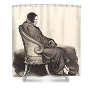 Barb?-marbois Shower Curtain