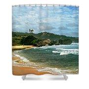 Barbados Beach Shower Curtain
