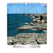 Barbados Coast Shower Curtain
