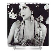 Barbara La Marr Shower Curtain