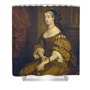 Barbara Villiers, Duchess Of Cleveland Shower Curtain