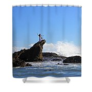Bethells Beach Shower Curtain