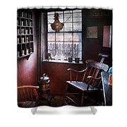 Barber - The Country Barber  Shower Curtain
