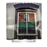 Barber Pole Shower Curtain