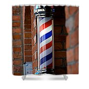 Barber Pole Shower Curtain
