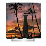 Barber's Point Lighthouse Shower Curtain
