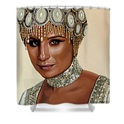 Barbra Streisand 2 Shower Curtain