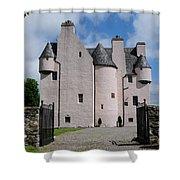 Barcaldine Castle Shower Curtain
