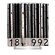 Barcode #19 Shower Curtain