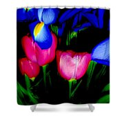 Bare Essentials Shower Curtain