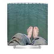 Barefoot In Nature Shower Curtain