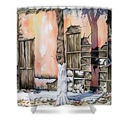 Bareque II Shower Curtain