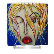 Barfly Morning Shower Curtain