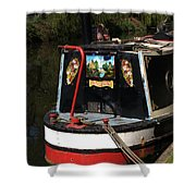 Barge Art Shower Curtain