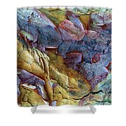 Bark Abstract Shower Curtain