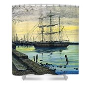 Bark Carthaginian Robert Lyn Nelson Shower Curtain