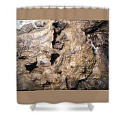 Bark-vision On Abstraction Theme  Shower Curtain