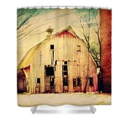 Barn For Sale Shower Curtain