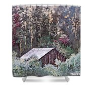 Barn At Cades Cove Shower Curtain