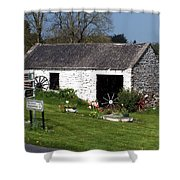 Barn At Fuerty Church Roscommon Ireland Shower Curtain