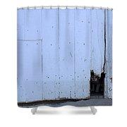 Barn Cat Hello Shower Curtain