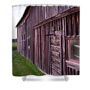 Barn Door Small Shower Curtain