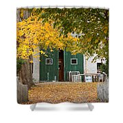 Barn Doors Shower Curtain