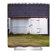 Barn Doors Shower Curtain