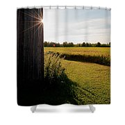 Barn Highlight Shower Curtain