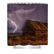 Barn - Id 16235-142810-2236 Shower Curtain