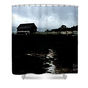 Barn Storming Shower Curtain