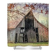 Barn Of The Indian Summer Shower Curtain