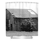 Barn In Kentucky No 58 Shower Curtain