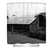 Barn In Kentucky No 86 Shower Curtain