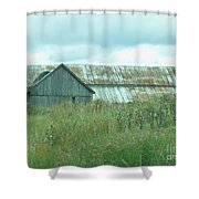 Barn In Softness Of Nature Shower Curtain