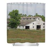 Barn In The Field 948 Shower Curtain