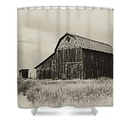 Barn In The Grand Tetons Shower Curtain