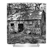 Barn In The Ozarks B Shower Curtain