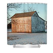 Barn Late Afternoon Shower Curtain