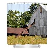 Barn Lot Shower Curtain