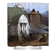 Barn On 29 Shower Curtain