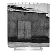 Barn On Dairy Farm Shower Curtain