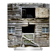 Barn Side Shower Curtain