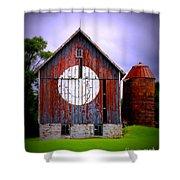 Barn Smile Shower Curtain