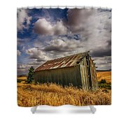 Barn Solitude Shower Curtain