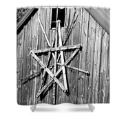 Barn Star Shower Curtain