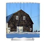 Barn Veins Shower Curtain