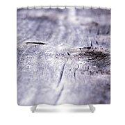 Barn Wood Abstract Shower Curtain