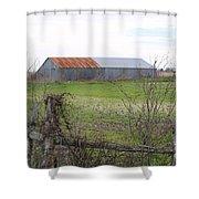 Barn4 Shower Curtain